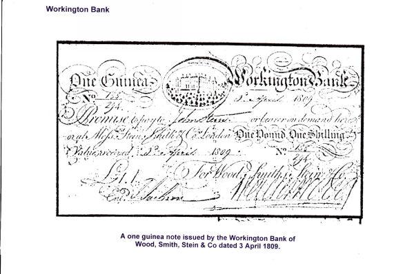 Workington Bank Note